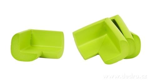 DA17474-4 ks NÁRAZNÍK na rohy nábytku hráškově zelený