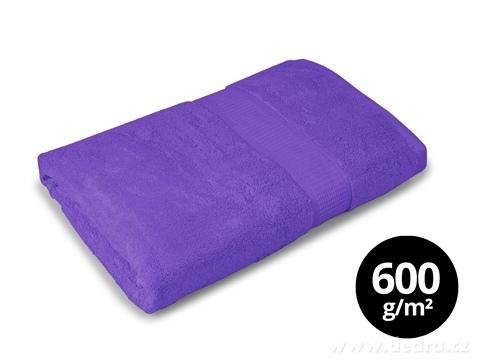 FC17027-BAMBOO osuška s elegantnou bordúrou fialová