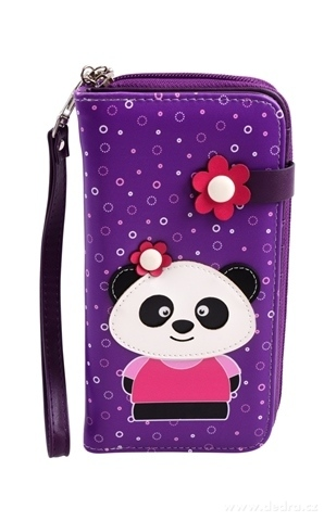 FC16712-Peňaženka KIKISTAR® z ekokože violet