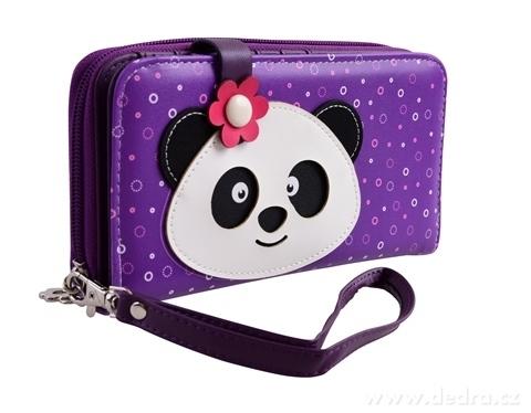 FC16702-Peňaženka KIKISTAR® z ekokože violet