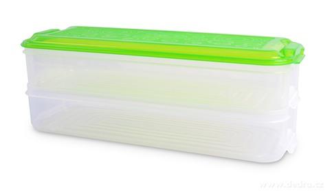 DA16652-CHLADNIČKOBOX 2 poschodové BOX na potraviny