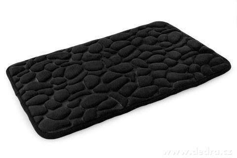 FC16502-Kúpeľňová predložka ANATOMIXX, čierna 60 x 80 cm