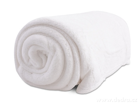 FC16422-LAGOON prikrývka biela 150 x 200 cm