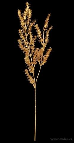 DA985623-Ratolesť kríky dĺžka cca 70 cm zlatá