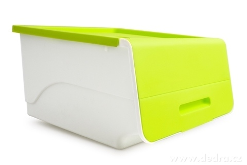 DA14422-ŠTOSBOX plastový box jasne zelený