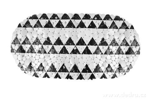 FC14334-Protišmyková podložka do vane black & white
