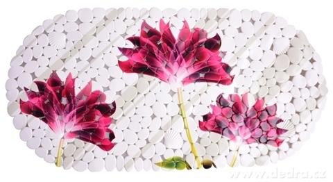 FC14331-Protišmyková podložka do vane flowers