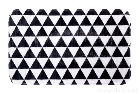 FC14324-Kúpeľňová predložka black & white