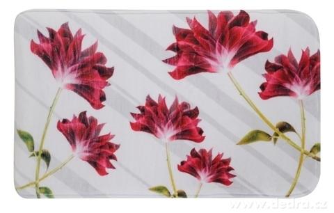 FC14321-Kúpeľňová predložka flowers