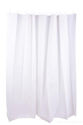 FC14122-Kúpeľňový záves biely