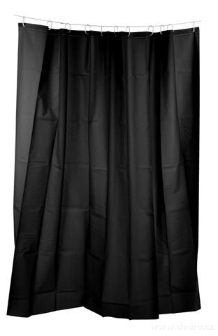 FC14121-Kúpeľňový záves čierny