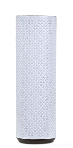 DA13282-Keramická váza 25 cm vysoká smotanová