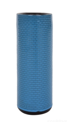 DA13281-Keramická váza 25 cm vysoká modrá