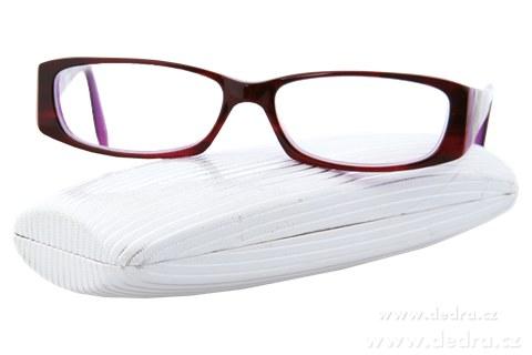 DA4044-Pevné škrupinové púzdro na okuliare 16 x 7 x 3,5 cm
