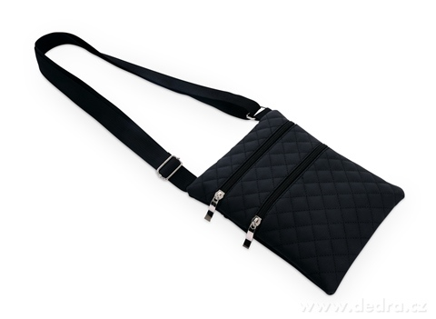 FC20171-CROSSBAG FORGED kabelka cez rameno čierna