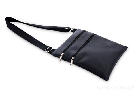 FC20162-CROSSBAG ZIPPER kabelka cez rameno čierna