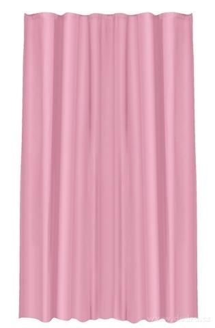 FC20372-Kúpeľňový záves jednofarebný staroružový 180 x 180 cm
