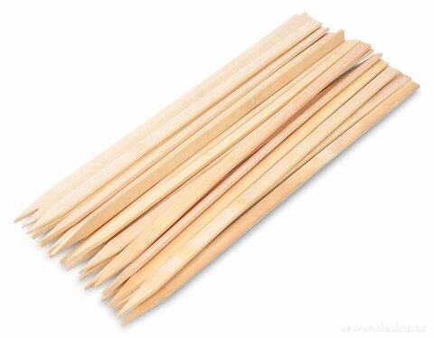 DA20481-25 ks grilovacie hroty z bambusu GoEco