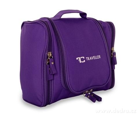 FC20502-Traveller cestovné organizér na toaletné potreby fialový