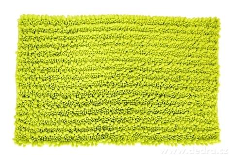 FC20542-3D CORAL kúpeľňová predložka jasne zelená