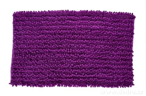 FC20541-3D CORAL kúpeľňová predložka tmavofialová