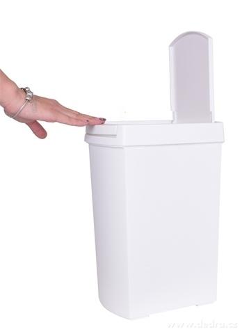 DA20611-TOUCH & OPEN odpadkový kôš dotykový, biely
