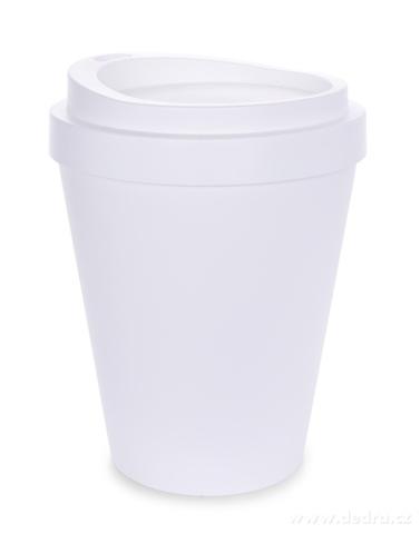 DA20581-KELIMERO dizajnový odpadkový kôš 8 L biely