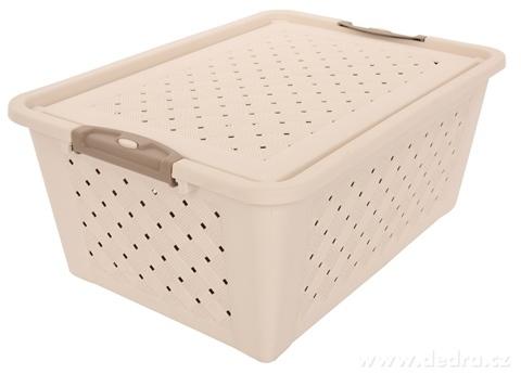 DA20634-Box s vekom plastový dierovaný