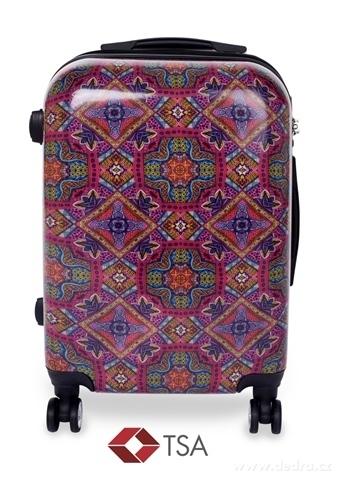 FC20763-TSA kufor menšie MANDALA ORNAMENTS 37 x 23 x 50 cm