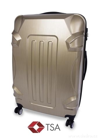 FC20743-TSA kufor veľký GOLD RELIEF 50 x 30 x 70 cm