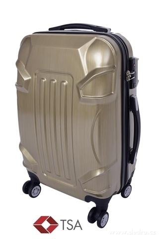 FC20741-TSA kufor menšie GOLD RELIEF 37 x 23 x 50 cm