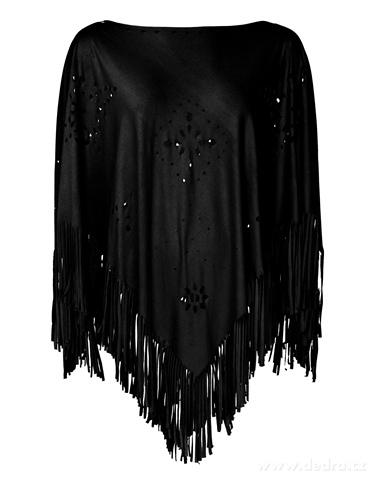 FC20992-CORTNIE dámske celoročné pončo black