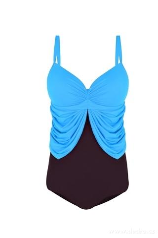 FC21161-ANGELLINE jednodielne plavky tyrkysové