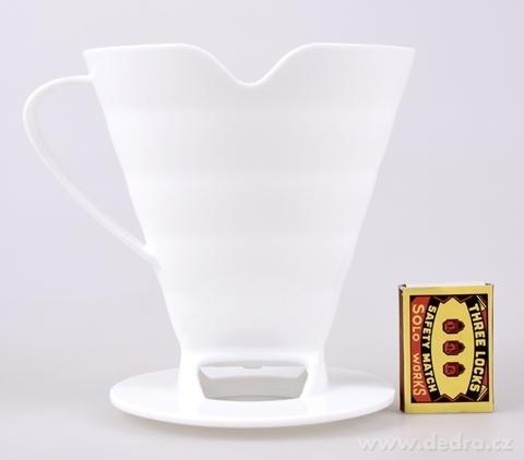 DA21362-PREKVAPKÁTOR na kávu a čaj, biely