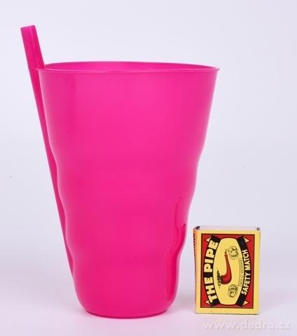 DA21383-BRČKOKELÍMEK 600 ML plastový ružový