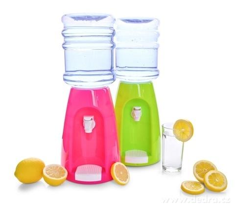DA21432-BARREL ČEPOCHLADNÍK zásobník na nápoje objem 2,3 L, ružový