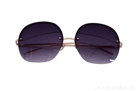 FC21523-Slnečné okuliare bardotka grey & gold