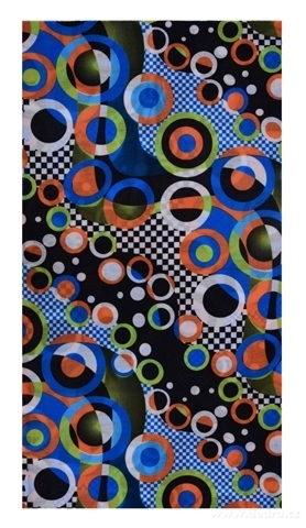 DA21682-Multifunkčná šatka farebné kruhy