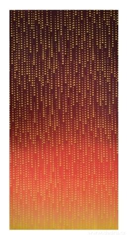 DA21681-Multifunkčná šatka oranžové tóny