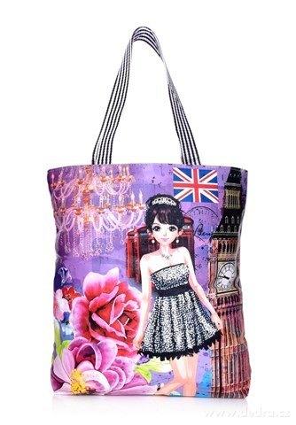 FC21915-Elegantná kabelka v prednej časti z ekokože British lady