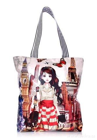 FC21914-Elegantná kabelka v prednej časti z ekokože City girl