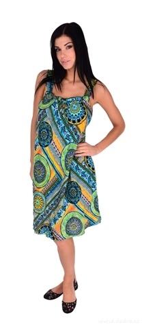 FC22013-ALICIA mandala ornamets vzdušné šaty