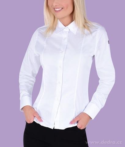 FC2227M-SOPHIA košeľa slim fit s dlhým rukávom white