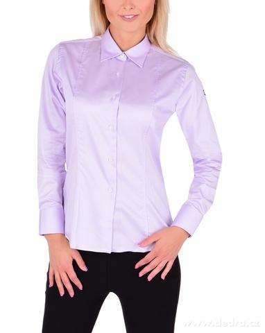 FC2225M-SOPHIA košeľa slim fit s dlhým rukávom light lilac