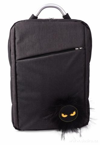 DA208011-BUSINESS BAG štýlový batoh black REBELITO®