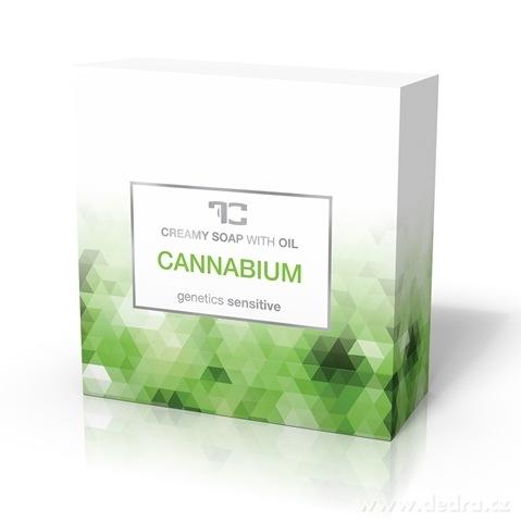 FC8792M-CANNABIUM rastlinné krémové mydlo s konopným olejom