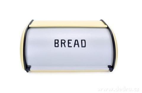 DA23354-Kovový chlebník BREAD vanilkový