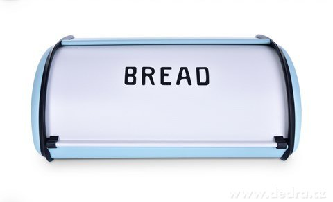 DA23352-Kovový chlebník BREAD tyrkysový