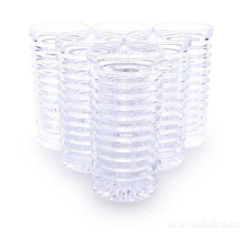 FC23712-6 ks sada poháre SPIRAL objem 260 ml výška 13,5 cm