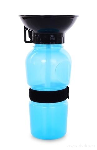 DA24002-HAFBAR cestovná plastová fľaša s miskou